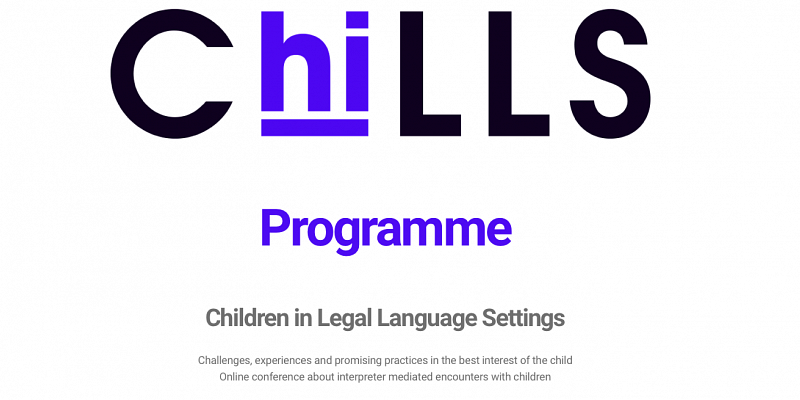 Our Talk at the European ChiLLS Conference